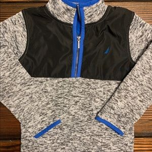 Boy's Nautica 3/4 zip pullover. Size 4